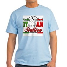 World's Greatest Italian Stallion T-Shirt