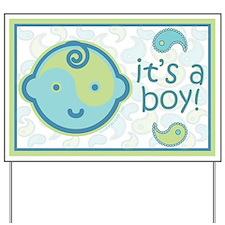 It's A Boy! Yard Sign