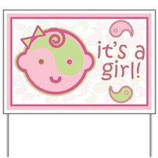 It's A Girl! Yard Sign