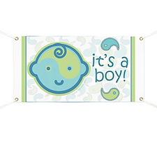 It's A Boy! Banner