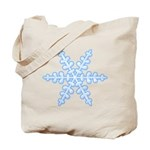 Flurry Snowflake XIV Tote Bag