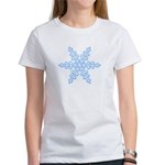 Flurry Snowflake XIV Women's T-Shirt