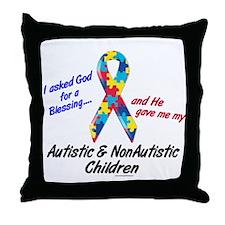 Blessing 3 (Autistic/NonAutistic Children) Throw P