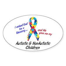 Blessing 3 (Autistic/NonAutistic Children) Decal
