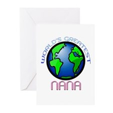 World's Greatest Nana! Greeting Cards (Pk of 10)