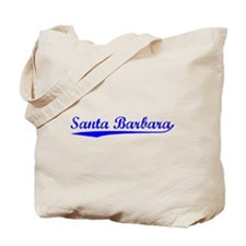 Vintage Santa Barb.. (Blue) Tote Bag