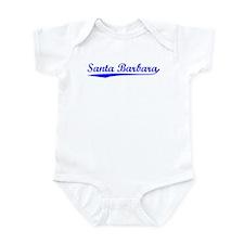 Vintage Santa Barb.. (Blue) Infant Bodysuit