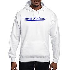 Vintage Santa Barb.. (Blue) Hoodie