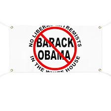 Anti-Obama Anti-Liberal Banner