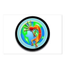 Kokopelli on the Earth Postcards (Package of 8)