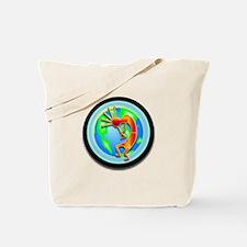Kokopelli on the Earth Tote Bag