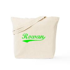 Vintage Rowan (Green) Tote Bag