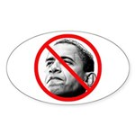 Anti-Barack Obama Oval Sticker (10 pk)