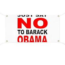Anti-Barack Obama Banner