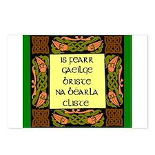 is fearr gaeilge briste Postcards (Package of 8)