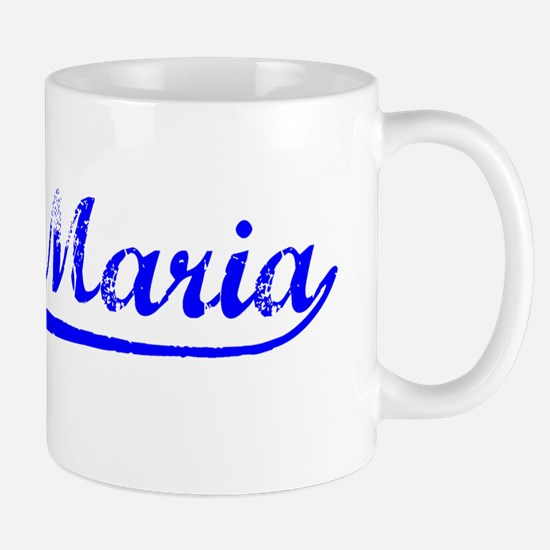 Vintage Santa Maria (Blue) Mug