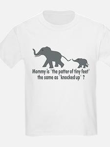 Cartoon Elephants funny T-Shirt