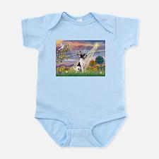 Cloud Angel & Toy Fox Terrier Infant Bodysuit