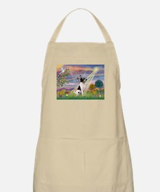Cloud Angel & Toy Fox Terrier BBQ Apron