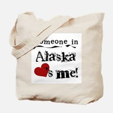 Alaska Loves Me Tote Bag