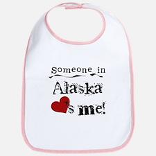 Alaska Loves Me Bib