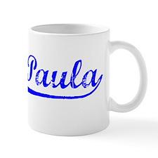 Vintage Santa Paula (Blue) Mug