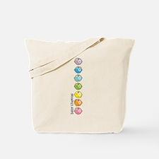 Baby Chakras Rainbow Tote Bag