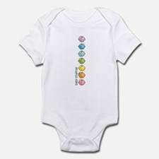 Baby Chakras Rainbow Infant Bodysuit