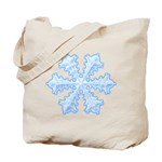 Flurry Snowflake XIII Tote Bag