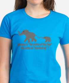 Cartoon Elephants funny Tee