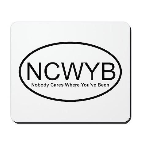 NCWYB Mousepad