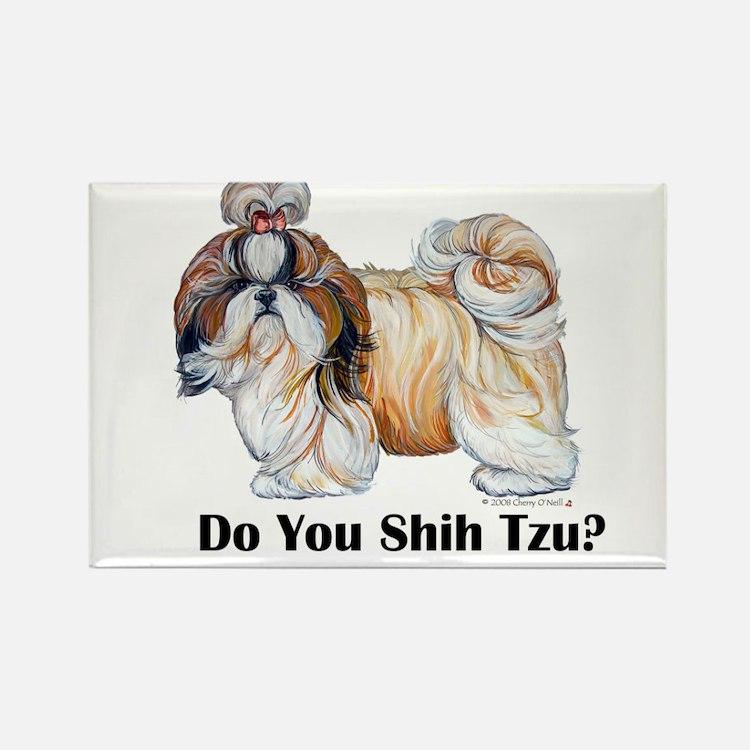 Do You Shih Tzu? Rectangle Magnet (10 pack)