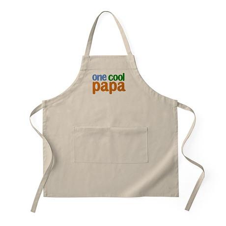 one cool papa grandpa t-shirts BBQ Apron