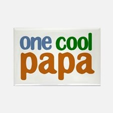 one cool papa grandpa t-shirts Rectangle Magnet