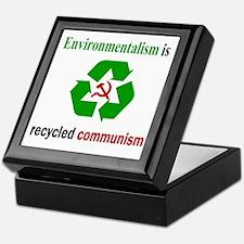 Anti Green Keepsake Box