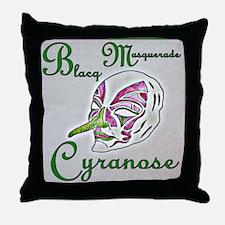 Cyranose Throw Pillow