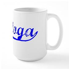 Vintage Saratoga (Blue) Mug