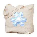 Flurry Snowflake XII Tote Bag