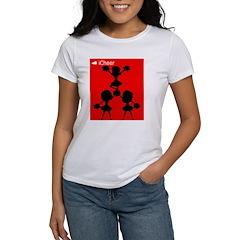 I Cheer Red Women's T-Shirt