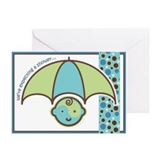 Baby Shower Invite : Boy! Greeting Cards (Pk of 10