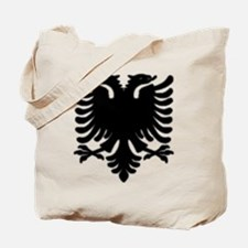 Black Albanian Double Headed Tote Bag