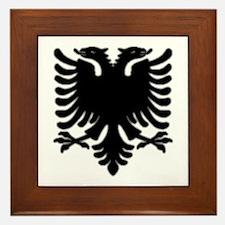 Black Albanian Double Headed Framed Tile
