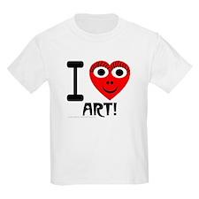I (Heart) Art Kids T-Shirt
