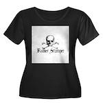 Rubber Stamper - Skull & Cros Women's Plus Size Sc