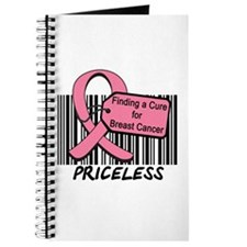 Breast Cancer Cure Priceless Journal