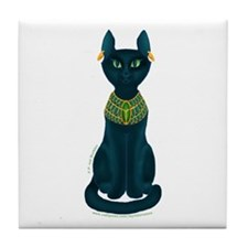Bastet Tile Coaster