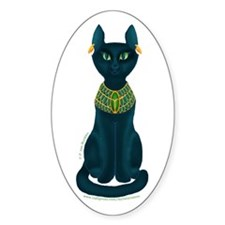 Bastet Oval Decal