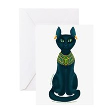 Bastet Greeting Card