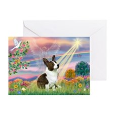 Cloud Angel / Corgi (c) Greeting Card
