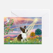Cloud Angel / Corgi (c) Greeting Card